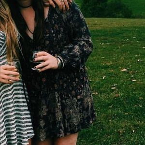 Free People Blue Floral Dress / Tunic
